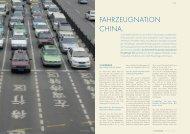 FAHRZEUGNATION CHINA. - der f&e manager