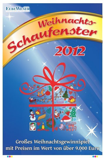 Weihnachtsschaufenster 2012