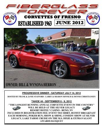 CoF Newsletter June 2012 - Vette Car Club - Fresno