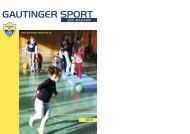 GSC Clubmagazin 2012 - Gautinger Sportclub e.V.
