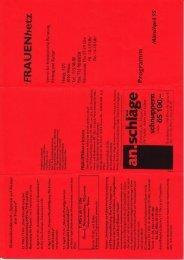 März/April 1995 - Frauenhetz