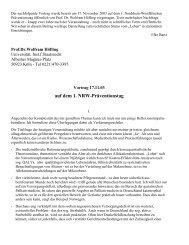 Rechtsfreie Räume in Alten- und Pflegeheimen - ForseA