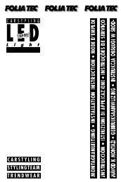 LED - Foliatec