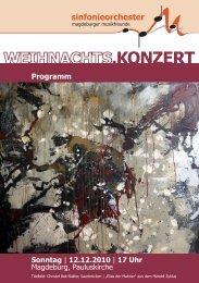 Programm - Kulturserver Sachsen-Anhalt