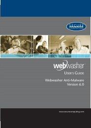 Webwasher 6.0.1 Anti-Malware User's Guide - McAfee