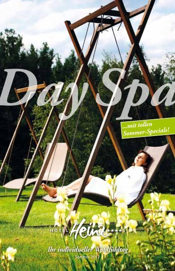 Day Spa-Package - Hotel Heinz