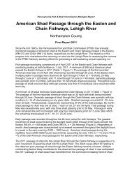2011 shad - Pennsylvania Fish and Boat Commission