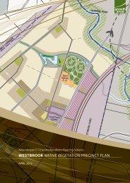 westbrook native vegetation precinct plan - Growth Areas Authority