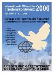 Die Dokumentation im PDF-Format - Friedenskonferenz