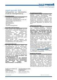 TM maxit purcalc 310 - maxit Baustoffwerke GmbH