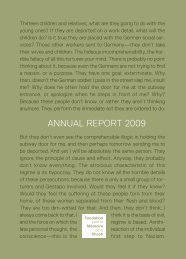 download the 2009 report - Fondation pour la Mémoire de la Shoah