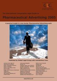 Pharmaceutical Advertising 2005 - GALA