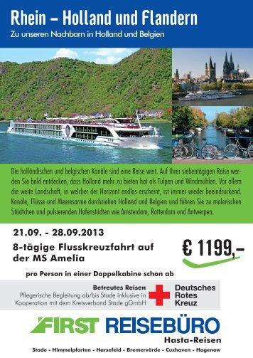 Rhein - Holland und Flandern