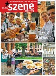 Stadtmagazin Neue Szene Augsburg 2013-06
