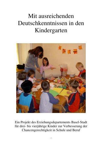 Mit ausreichenden Deutschkenntnissen in den ... - Forum Bildung