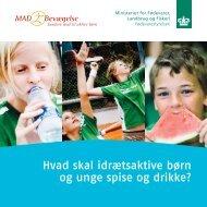 Hvad skal idrætsaktive børn og unge spise og drikke? - Alt om kost