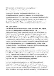 Artikel zur Historie - Schleswig-Holsteinische Landesforsten