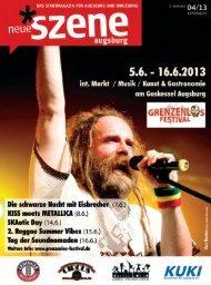 Stadtmagazin Neue Szene Augsburg 2013-04