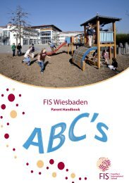 Wiesbaden Campus Handbook - Frankfurt International School