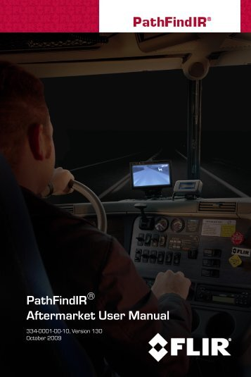 PathFindIR Aftermarket User Manual - Flir Systems