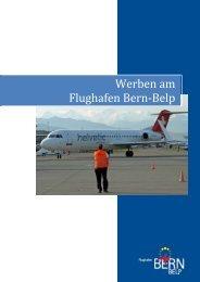 Werben am Flughafen Bern‐Belp