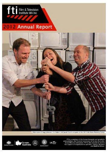 FTI Annual Report 2012.pdf - Film & Television Institute