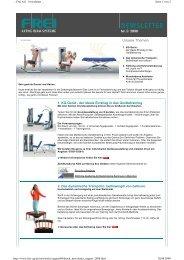 Newsletter August 2008 - Frei AG