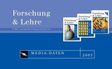 Forschung & Lehre
