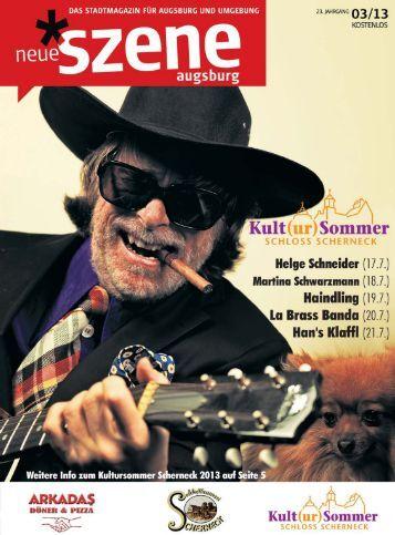 Stadtmagazin Neue Szene Augsburg 2013-03