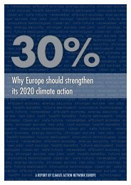 Why Europe should strengthen its 2020 climate action - Greenpeace