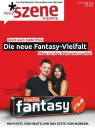 Stadtmagazin Neue Szene Augsburg 2013-02