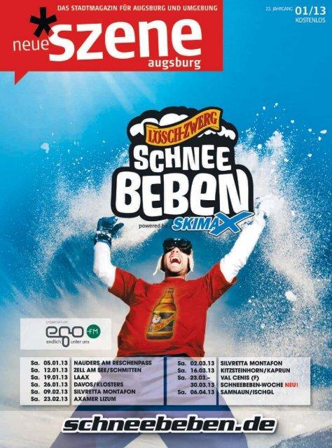 Stadtmagazin Neue Szene Augsburg 2013-01