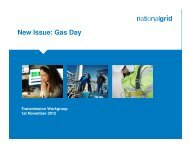 24 October 2012 New Issue - Gas Day (provided by National Grid ...