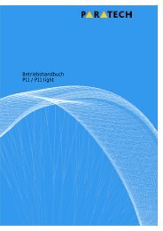 Handbuch PDF - Paratech AG