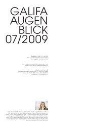 07_Juli 2009.pdf - Galifa Contactlinsen AG