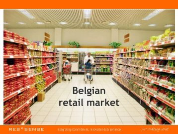 Retail in Belgium, Res-sense - Food2Market