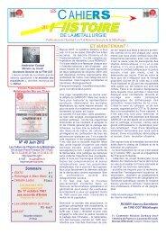 N 40 juin 2012.pmd - Féderation - La cgt