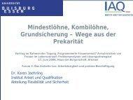 Vortrag Karen Jaehrling - Bremen