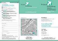 Flyer und Anmeldung - Weiterbildung in Baden-Württemberg