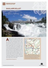 Information about National Tourist Route Gaularfjellet, download pdf.
