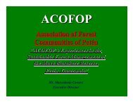 ACOFOP - Forest Trends