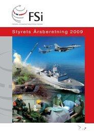 Styrets Årsberetning 2009 - FSi
