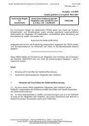TRGS 906 - Gewerbeaufsicht - Baden-Württemberg