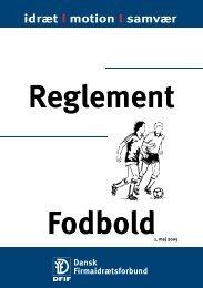 Reglement - Fodbold FKBU