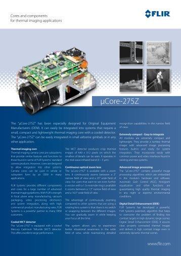 µCore-275Z - Flir Systems