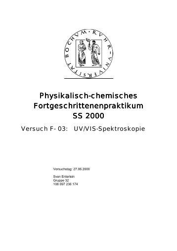 UV/VIS-Spektroskopie - funnycreature.de