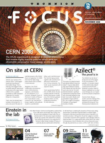 Printable version - Technion Focus Magazine