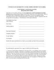 CM/ECF Registered Form - Middle District of Florida