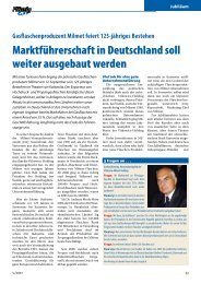 Marktführerschaft in Deutschland soll weiter ausgebaut werden