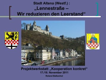 STADT ALTENA - Forum Bremen